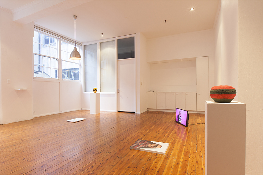 <em>Empty Vessels, Awkward Advances</em>, Installation view Wellington St Projects 2014