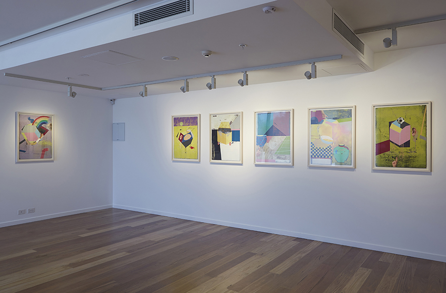 Chris Dolman, Mars Gallery, Melbourne